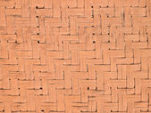 Texture of bamboo weaved wall in Thailand — Stock Photo