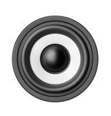 Bass sound speaker — Стоковое фото