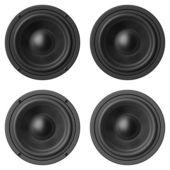Bass sound speakers — Stock Photo