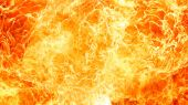 Blaze fire flame texture — Stock Photo