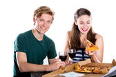 Couple dating — Stock Photo