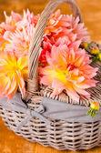 Autumn dahlia — Stock Photo