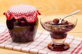 Cherry stewed fruit — Stock Photo