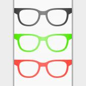 Vector image of Glasses — Stock Vector