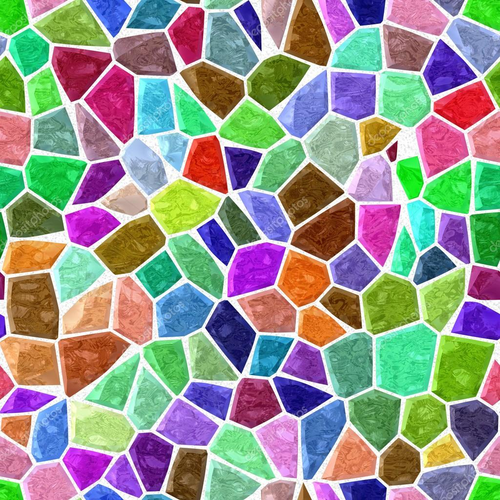 Color a todo color m rmol mosaico irregular de piedra - Mosaicos de colores ...