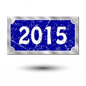 Sign new year — Stock Vector