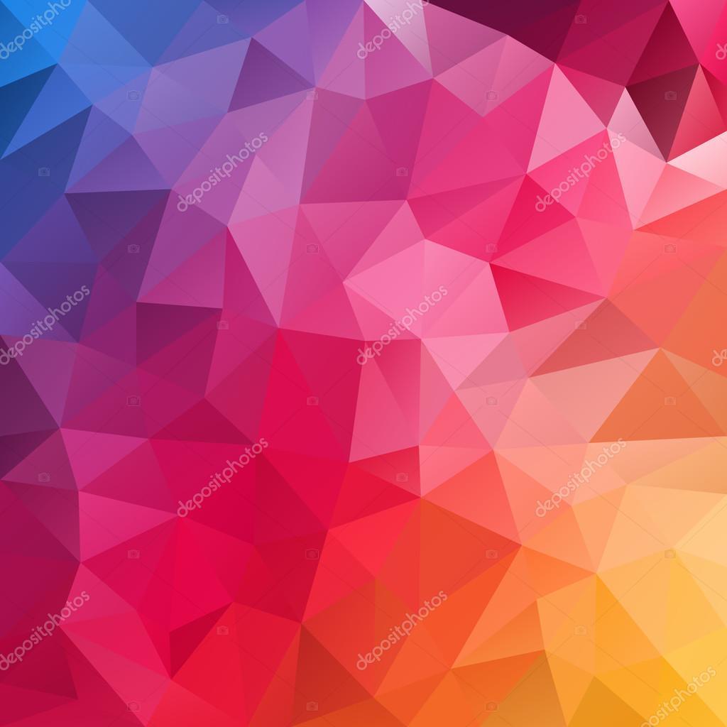 vector fond polygone bleu mod u00e8le