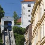 Funicular in Zagreb — Stock Photo #52763927