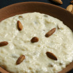 Shrikhand - an Indian sweet dish made of strained yogurt — Stock Photo #51885157