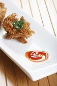 Kanda Bhajjia - Onion fritters from Maharashtra — Foto Stock