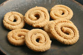 Chakli is a popular Indian festive snack — Stock Photo