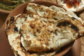 Tandoori Roti is Indian unleavened bread from India — Stock Photo