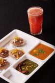 Ragi Idli, is a savory cake of south India. — Stock Photo