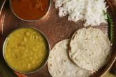 Gujarati Tuvar Dal - is a tangy and sweet dish of Gujarat — Stock Photo