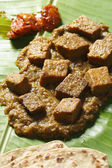 Dhokar Dalna - Dhokar Dalna a recipe made of bengal gram — Foto Stock