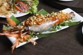 Galdi chingri chiney kabab - Stuffed Jumbo Prawn — Stock Photo