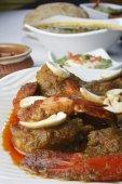 Narkel chingri is a prawn dish from India — Foto Stock