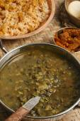 Khalo dal - a common dal prepared from black gram. — Stock Photo