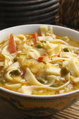 Thukpa Gya Thuk - A typical Tibetan style noodles in soup. — Stock Photo