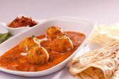 Dum Aloo- Spicy Indian Potato Curry — Foto Stock