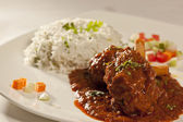 Spicy Mutton Curry from India. — Stockfoto