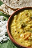 Menthi Pappu or Methi Dal or Fenugreek Lentil Curry — Stock Photo