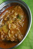 Kerala fish curry - fish in a tangy coconut curry — Stockfoto