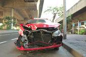 Car wreckage — Stock Photo