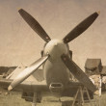 Supermarine Spitfire aircraf — Stock Photo #68926123