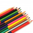 Colored Crayons - Color Pencils — Stock Photo #63402113