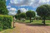 French regular park — Stock Photo