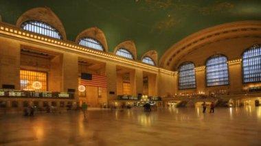Busy Grand Central Station — ストックビデオ