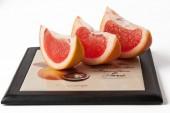 Grapefruit segments — Stock Photo