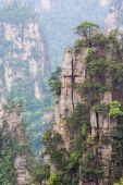 Mountain landscape of Zhangjiajie national park,China — Stock Photo