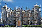 View of of Vorontsov Palace in Alupka Crimea — Stock Photo