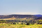 Mountain plateau in central Crimea — Stock Photo