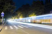 Kirov Avenue at night, Pyatigorsk, Russia — Stock Photo