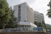Sanatorium Leninskie Skaly (Lenin Rocks) in Pyatigorsk, Russia — Stock Photo