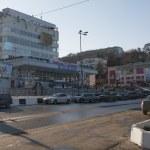 Administrative building at Pervomaysky Prospekt in Kislovodsk (R — Stock Photo #61761607