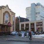 Kurortny Blvd in the resort city of Kislovodsk (Russia) — Stock Photo #61761867