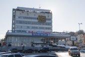 Administrative building at Pervomaysky Prospekt in Kislovodsk (R — Stock Photo