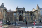 Main building narzan baths in Kislovodsk, Russia — Stock Photo