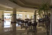 Restaurant in the Hotel Grand Oasis Resort — Stock Photo