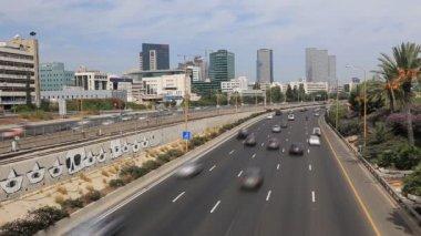 Tel Aviv Highway — Stock Video