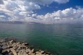 Sea of Galilee kineret — Stock Photo