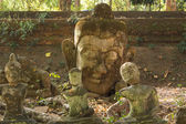 Thailand, Chiang Mai, Umong Temple ( Wat Umong ), old religious — Stock Photo