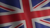Flag of united kingdom 3d illustration — Zdjęcie stockowe