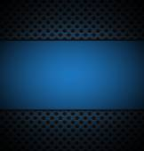 Illustrate of blue grill texture background. — Vector de stock