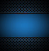 Illustrate of blue grill texture background. — Stock Vector