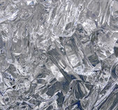 Icy Abstract ,Cool Glassy-Ice Abstract Background — Stok fotoğraf
